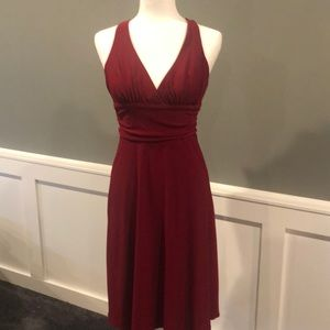 Laundry red cocktail dress